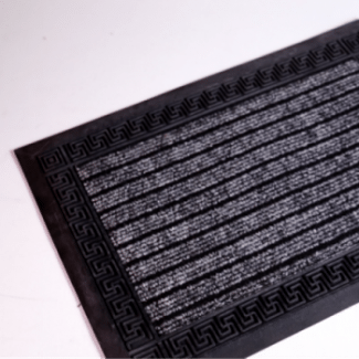 Felpudo alfombra de goma moqueta base gardeneas for Felpudos de goma