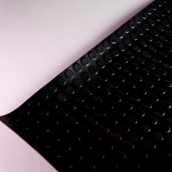 5b21b9898d9 Pavimento círculo negro rollos completos-Gardeneas